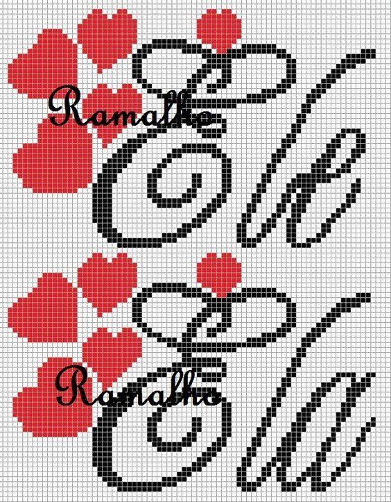 Graficos E Monogramas Com Imagens Bordado Ponto Cruz Ponto