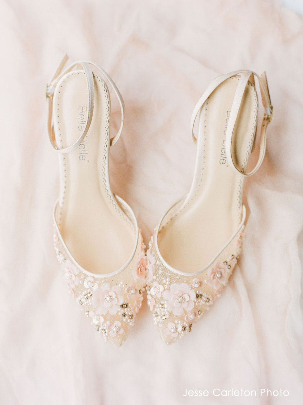 Low Heel Pearl Wedding Evening Shoes In 2020 Wedding Shoes Heels Blush Wedding Shoes Pearl Wedding Shoes