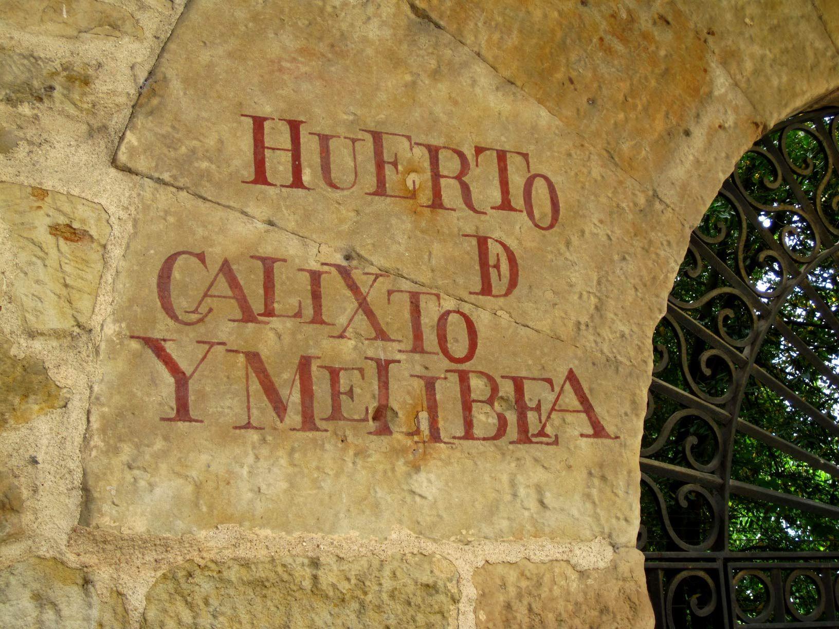 Huerto de calixto y melibea salamanca huerto y jard n pinterest salamanca huerto y espa a - Jardin de calisto y melibea salamanca ...
