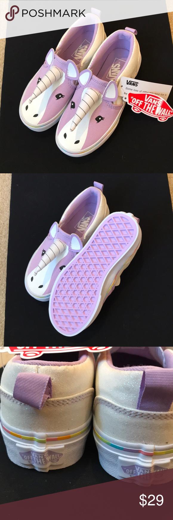 ba34a8e57c NWT Vans Asher Unicorn Shoes Never been worn kids 12 1 2 unicorn vans Vans  Shoes