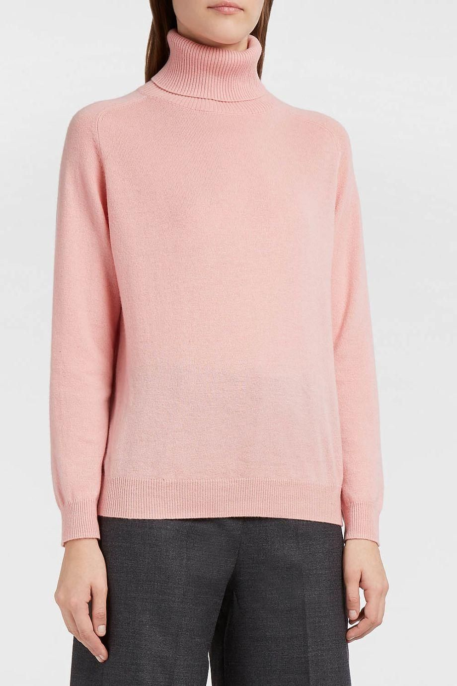 PAUL & JOE SISTER Auchaud Cashmere Polo Neck Jumper. #pauljoesister #cloth #