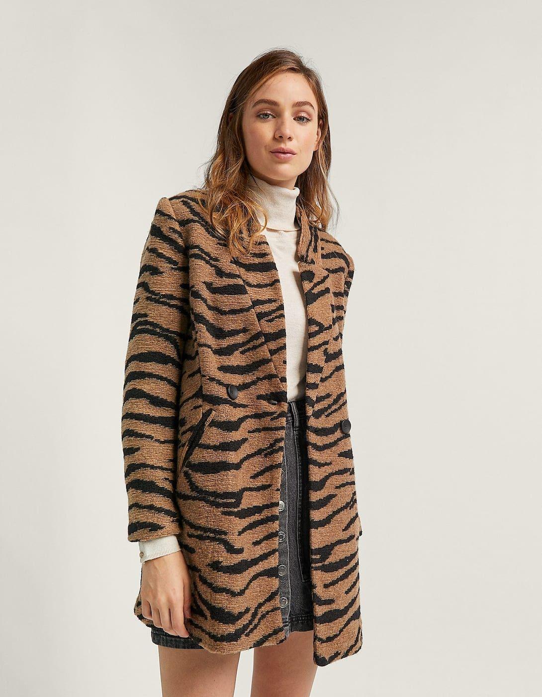 e542d12c7b Zebra cutwork coat - Coats