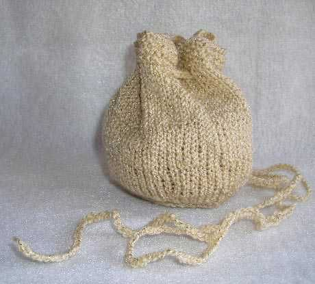 Evening Pouch Drawstring Bag #Bag #Totes #Purse #Free #Knitting ...