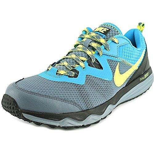 98777a438a3c Nike Mens Dual Fusion Trail Running Shoes Blue Yellow Grey Black 652867-402  Sz 8-13 (10)     You can get additional details at the image link.