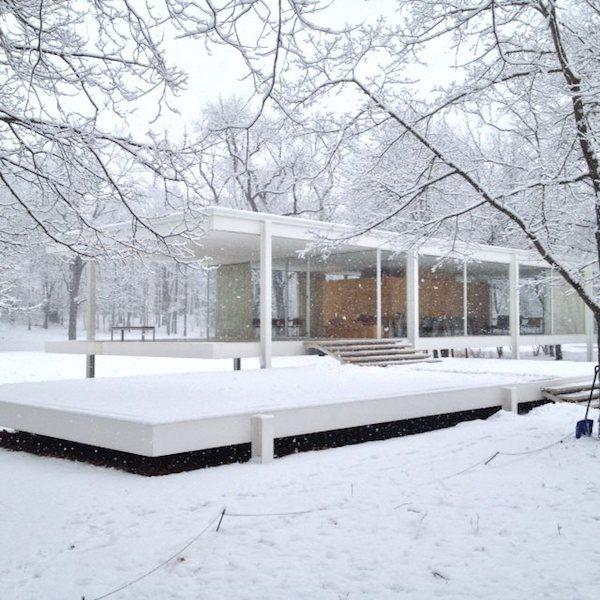 Farnsworth House Ludwig Mies van der Rohe
