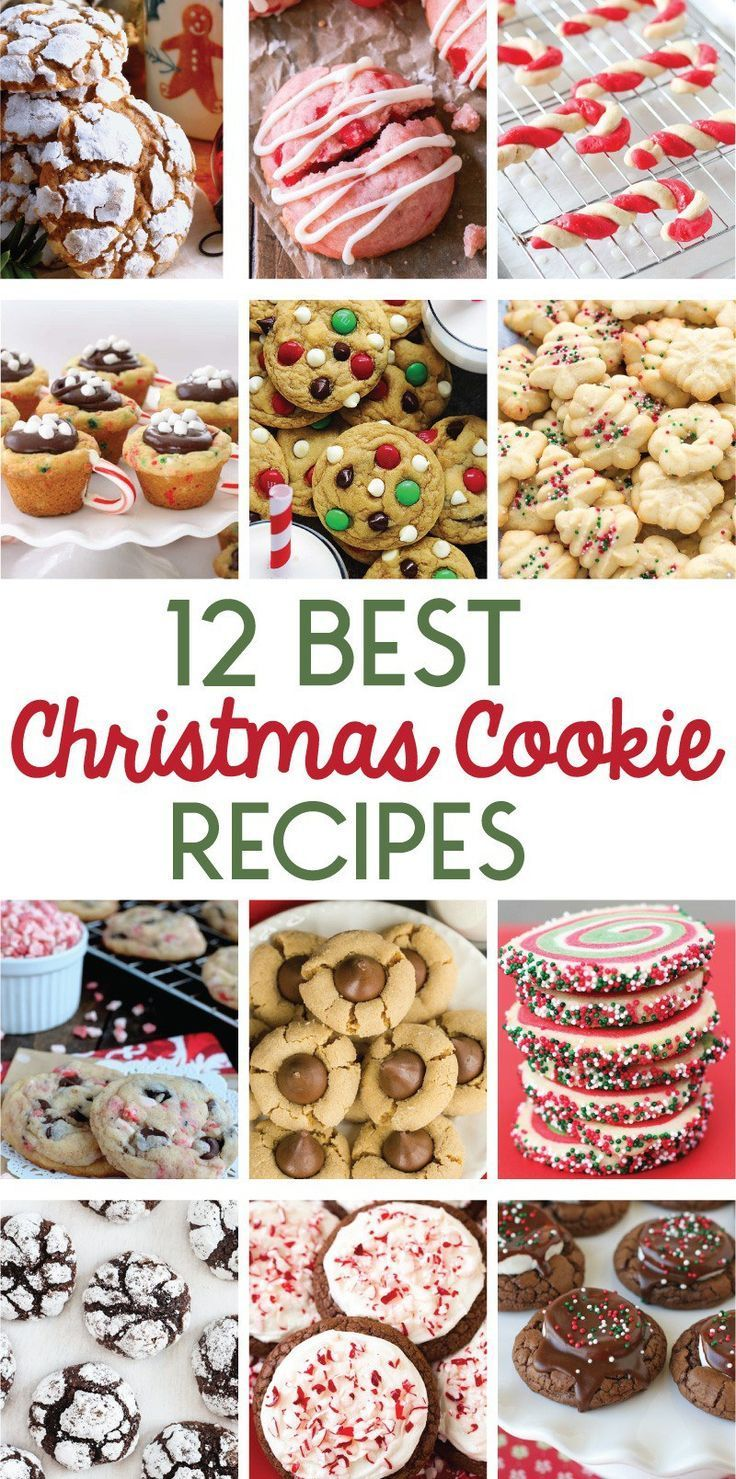 12 Best Christmas Cookie Recipes Perfect For Holiday Baking On