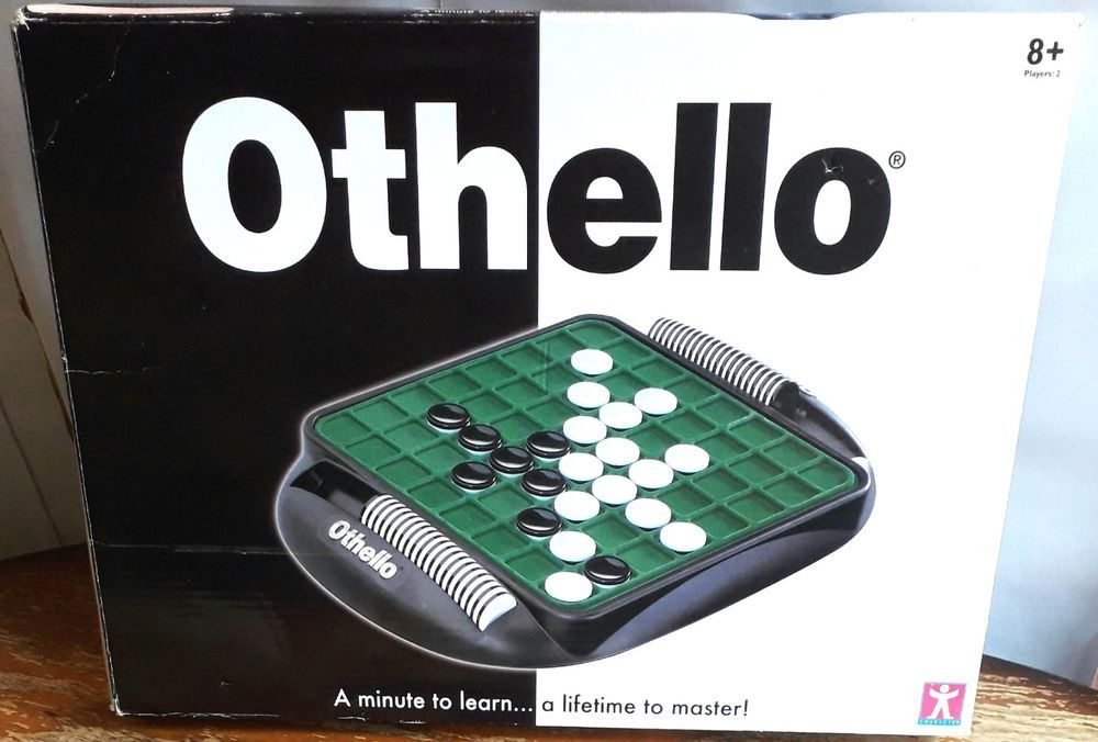OTHELLO BOARD GAME BY CHARACTER OPTIONS 1999 COMPLETE