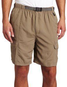 White Sierra Men's Safari Shorts (8-Inch Inseam) - Visit for more ...