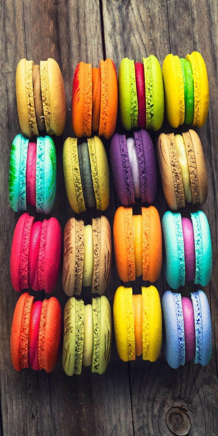 Macarons. - #macarons - #wallpapers #4k #free #iphone #mobile #games