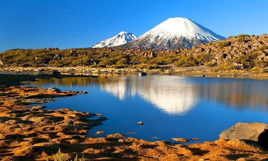 Lago Chungara   Parinacota, Chile