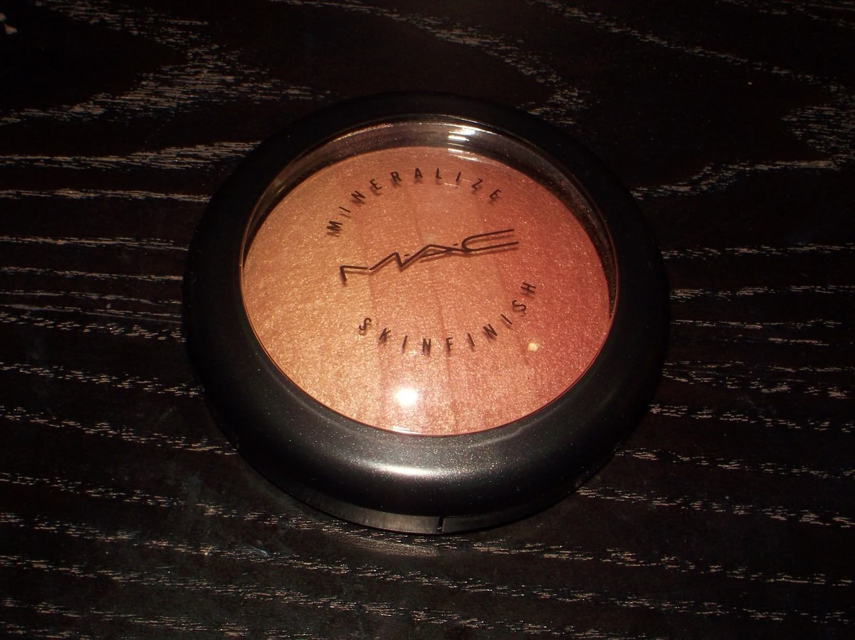 MAC Redhead Mineralize Skinfinish | Swatches and Thoughts ~ A Brilliant Brunette