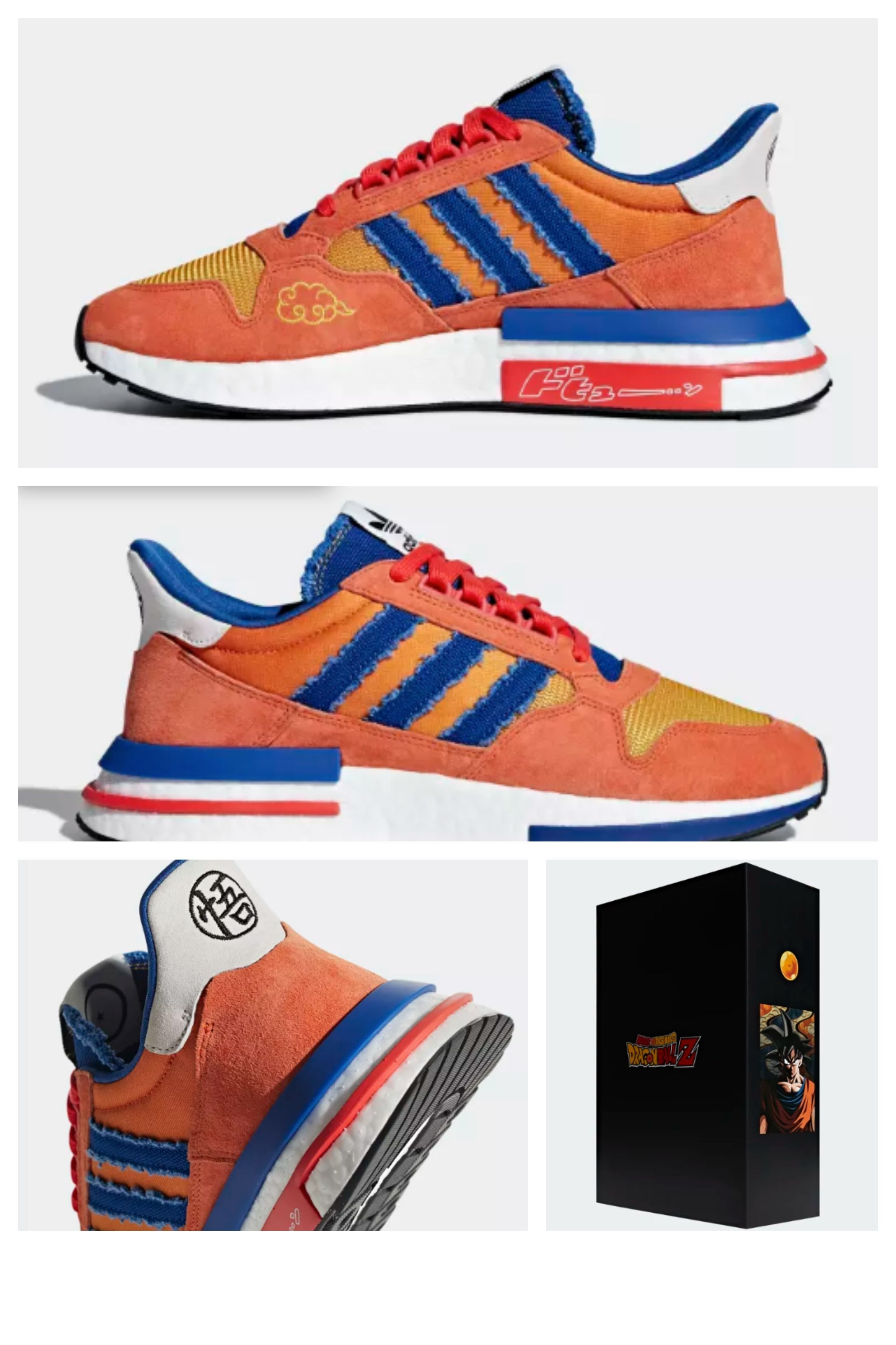 ae3b8c5dce9 Dragonball Z ZX 500 RM Shoes in 2019