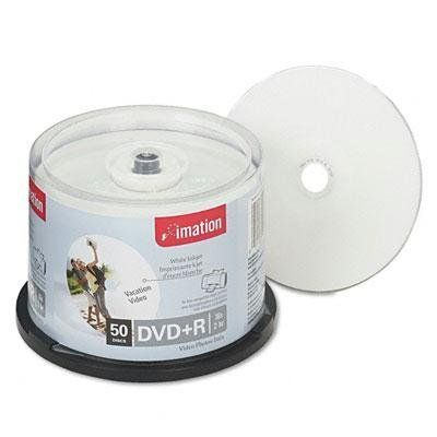photograph about Printable Dvd Discs named imation DVD+R Printable Recordable Disc - DVD+R Discs, 4.7GB