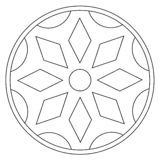 Mandalas Para Colorear Mandalas De Profesiones Mandalas Para Colorear Plantillas De Mandalas Patrones De Mosaico