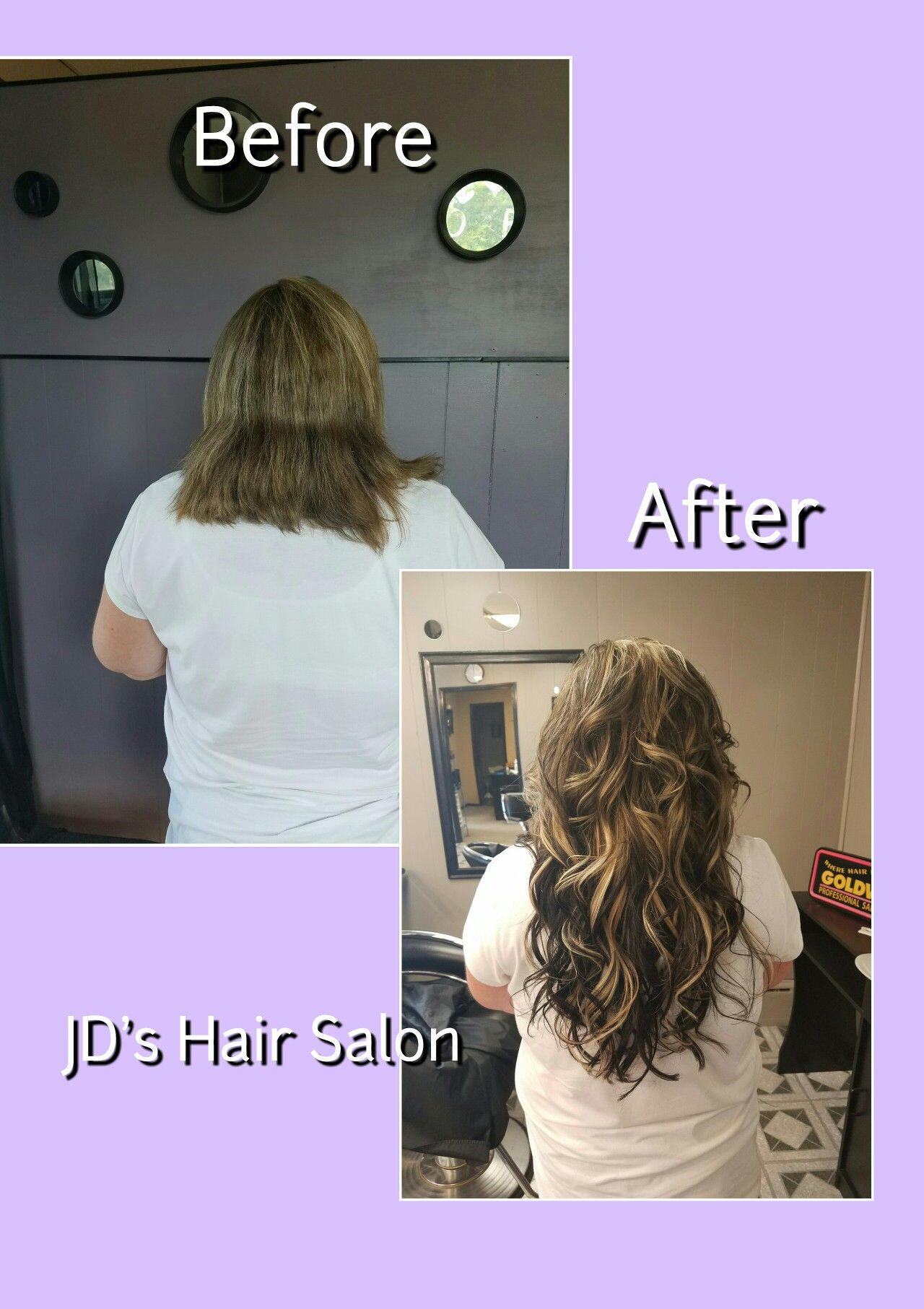 Before And After Pictures Of 18 Inch Micro Link Hair Extensions And