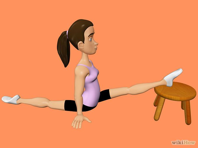 Stretch for the Splits | Fitness | Splits stretches, Over splits