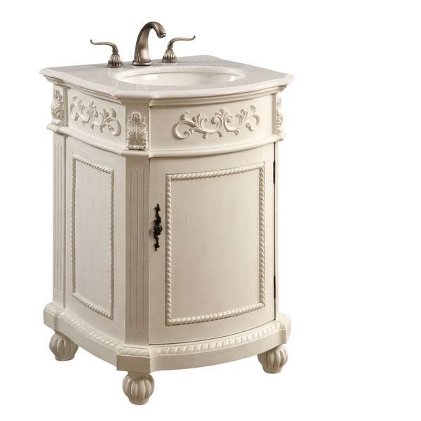 The Danville collection is finely hand crafted vanities and matching mirrors. The vanity is a single sink marbled top cabinet with a modest storage area underneath. Expert workmanship is evident in th