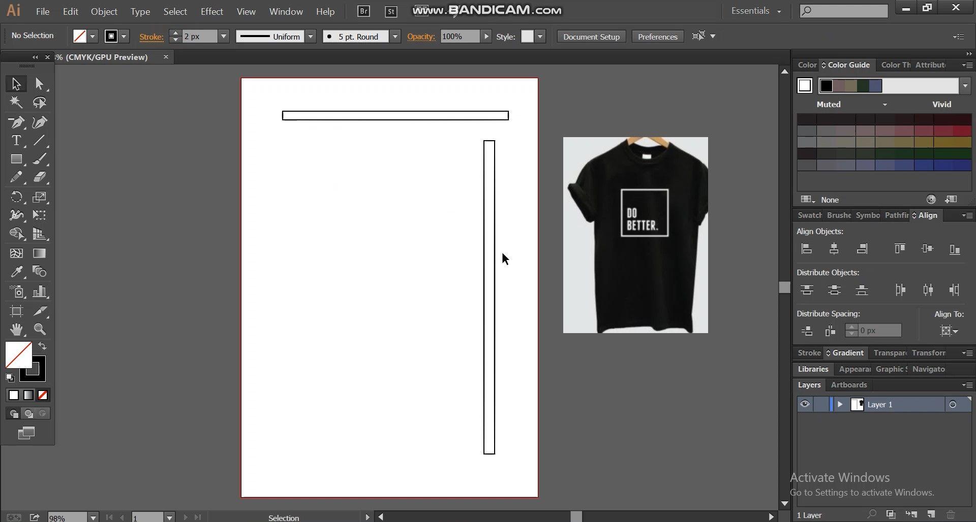 thumbnail sketch  for t shirt