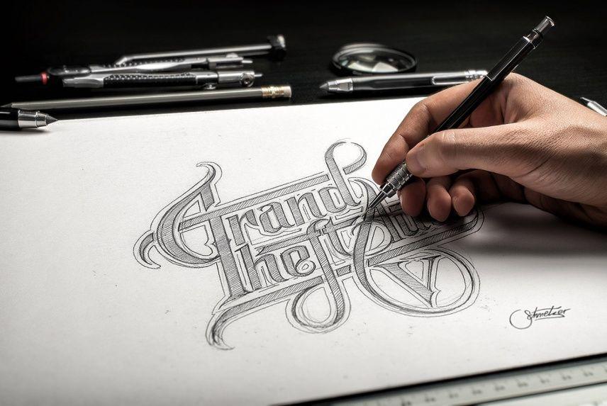 Hand Drawn Mockup | Free Mockups | Mockup, How to draw hands, Logo