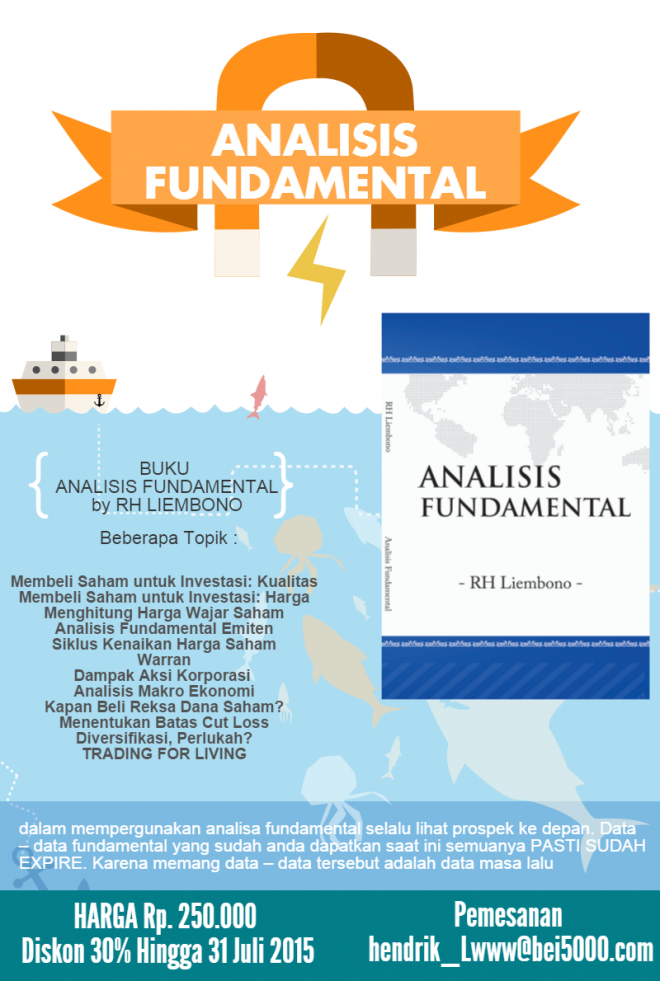 Buku Analisis Fundamental Buku Infografis Investasi