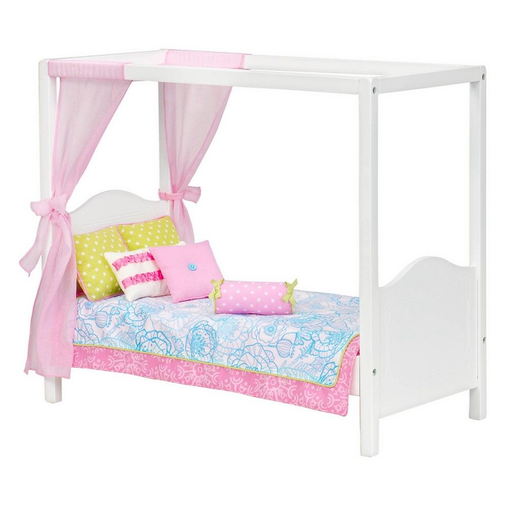 Our Generation Bed - White Canopy