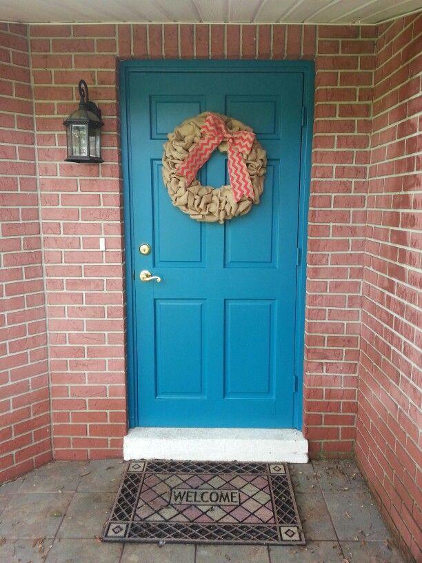 Valspar Red Front Door
