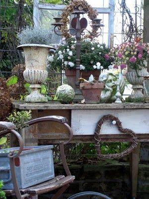 L A N D L I E B E-Cottage-Garden | Garden Junk | Pinterest ...