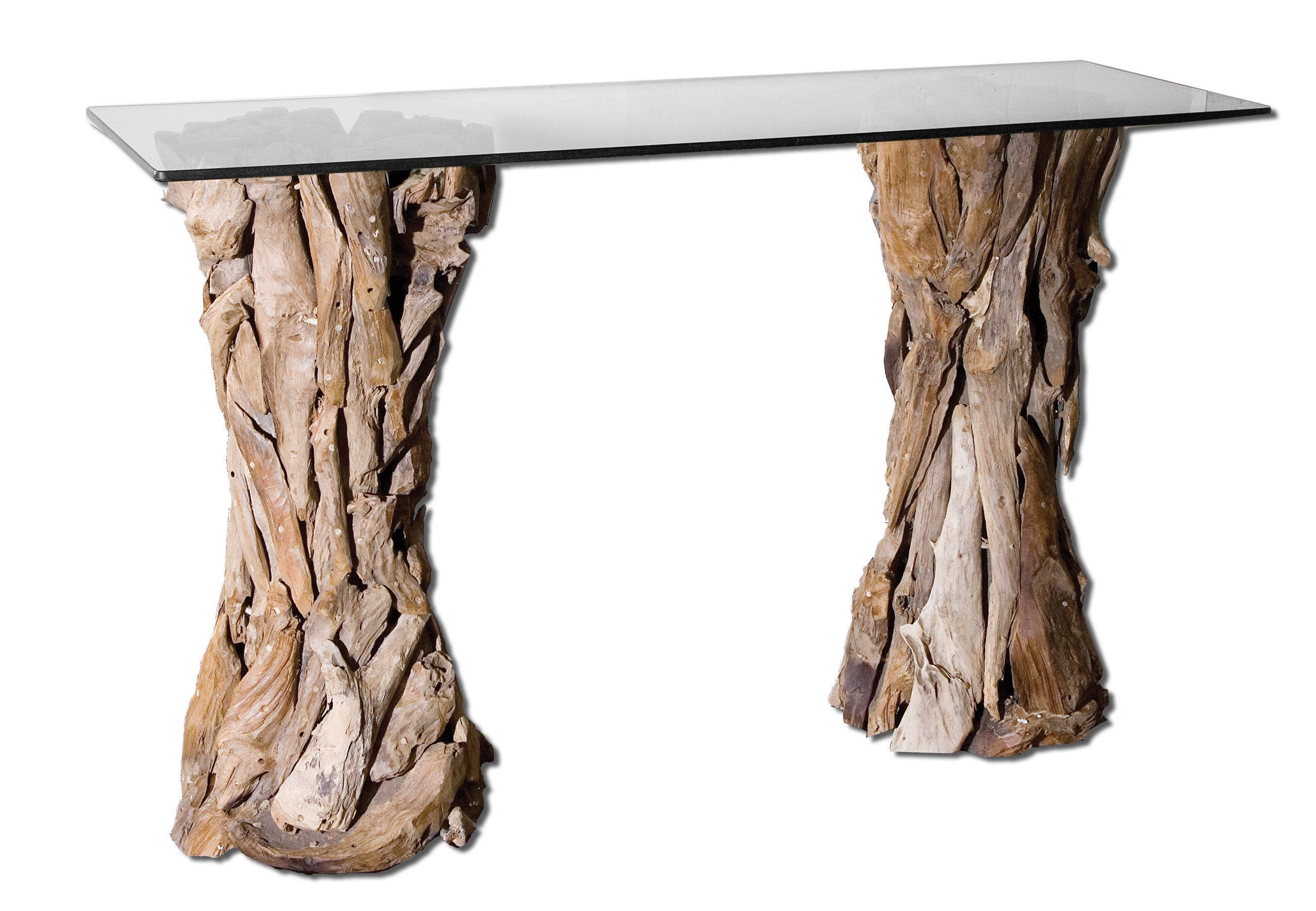 Uttermost teak root glass top console table 25582 uttermost uttermost teak root glass top console table 25582 geotapseo Image collections