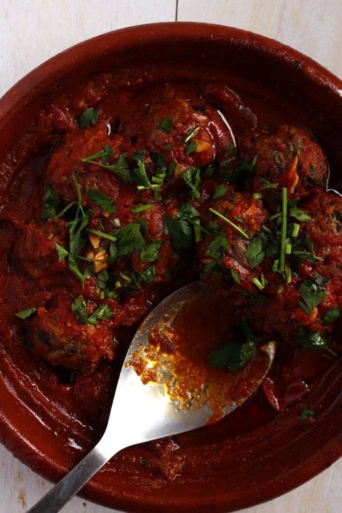 Moroccan Meatballs via @https://www.pinterest.com/brokefoodies/