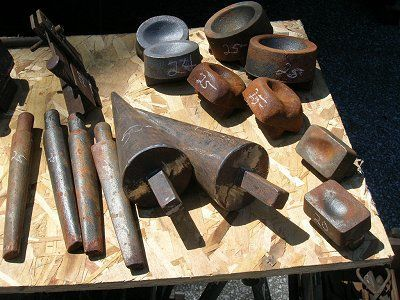 Swage Blocks Cones Hammer Drifts Forge Iron Works