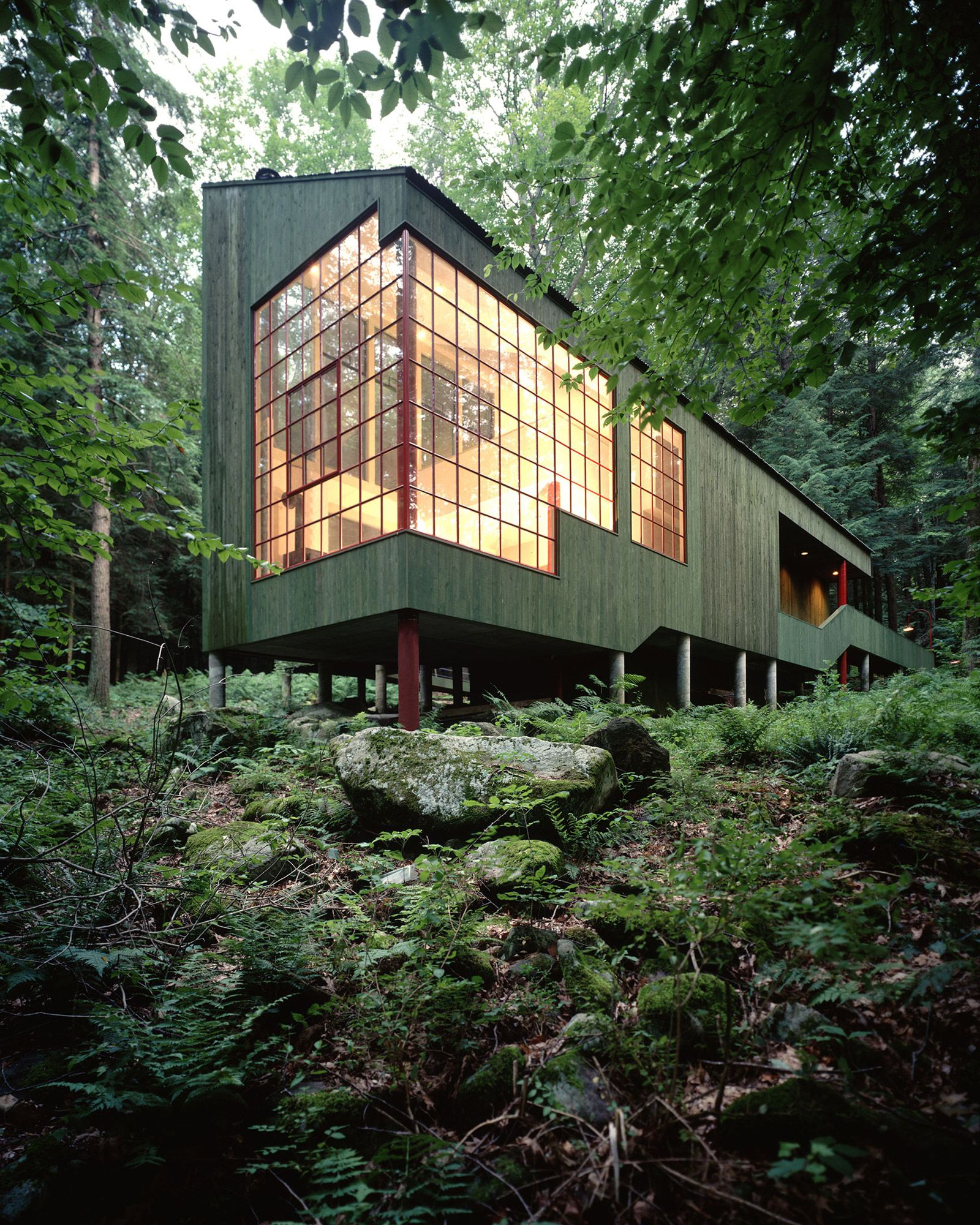 Forest House, West Cornwall CT | Bohlin Cwynski Jackson ... Dark Forest Floor Texture