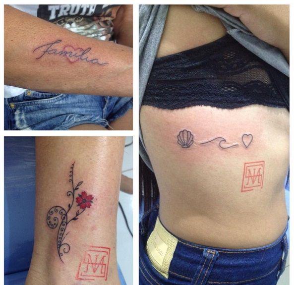 #melvistattoo #tattoo #tatuaje #tatouage #tatuagem #concha #mar #amor #love #paixao #familia #flores #arte #art #aracaju #Aju