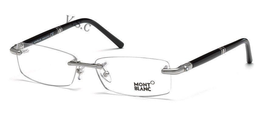 e6014cc6aac MONT BLANC MB0474 EYEGLASSES MB 474 PRESCRIPTION EYE GLASSES RIMLESS FRAME  016  MONTBLANC