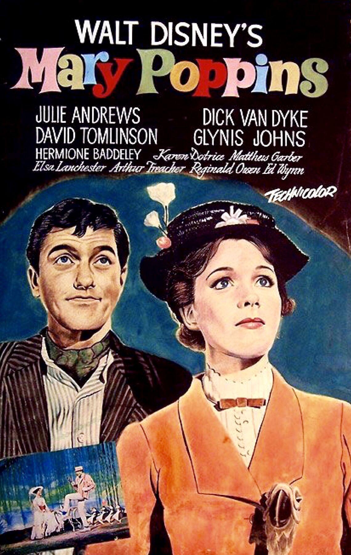 Walt Disney S Mary Poppins Buena Vista 1964 Favorite Movies