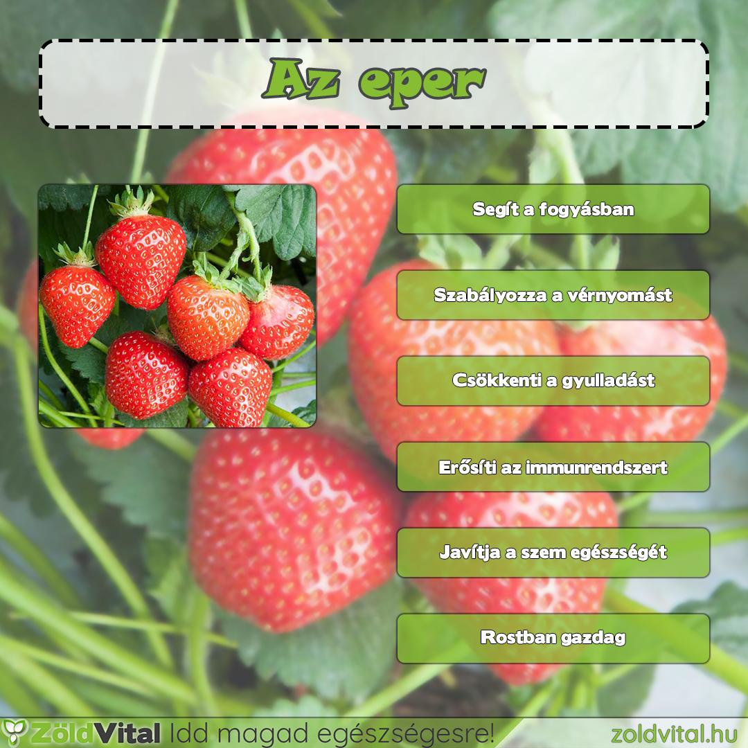 az eper segít a fogyásban)