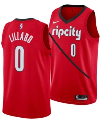 reputable site b1d9d 95473 Nike Damian Lillard Portland Trail Blazers Earned Edition ...
