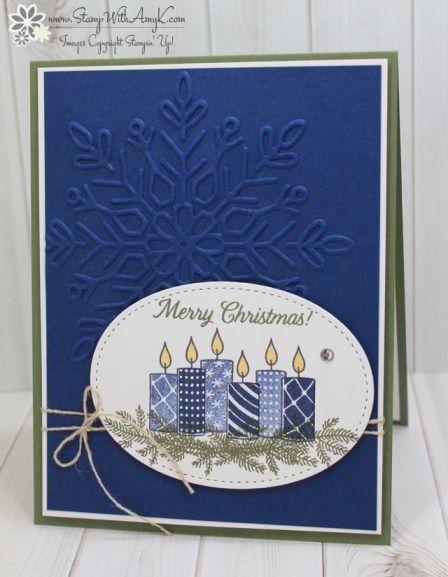 Épinglé par Marjorie McClintock sur Christmas Cards | Diy carte de
