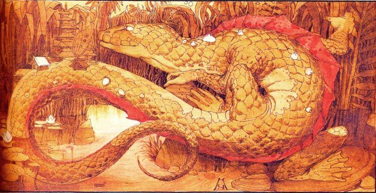 "Кирилл Челушкин «Японские сказки» 1994 | ""Картинки и ..."