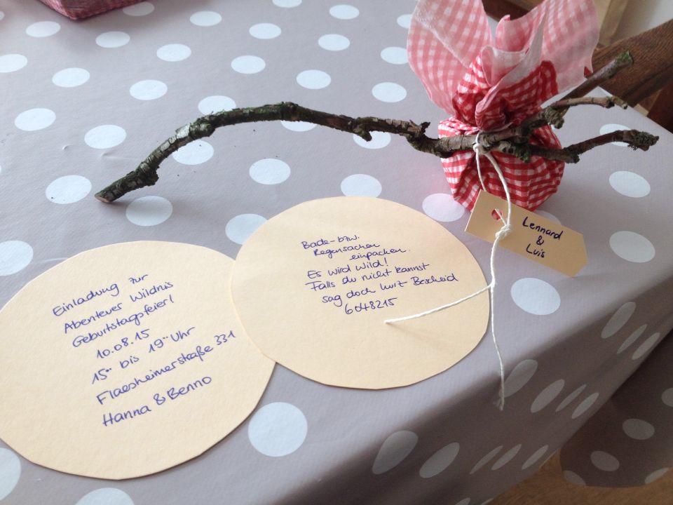 einladung kindergeburtstag natur | kinder | pinterest | einladung, Einladungsentwurf