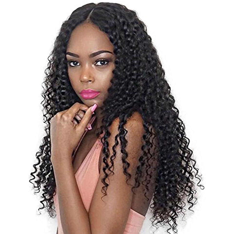Lin hair brazilian kinky curly virgin deep curly human hair weave