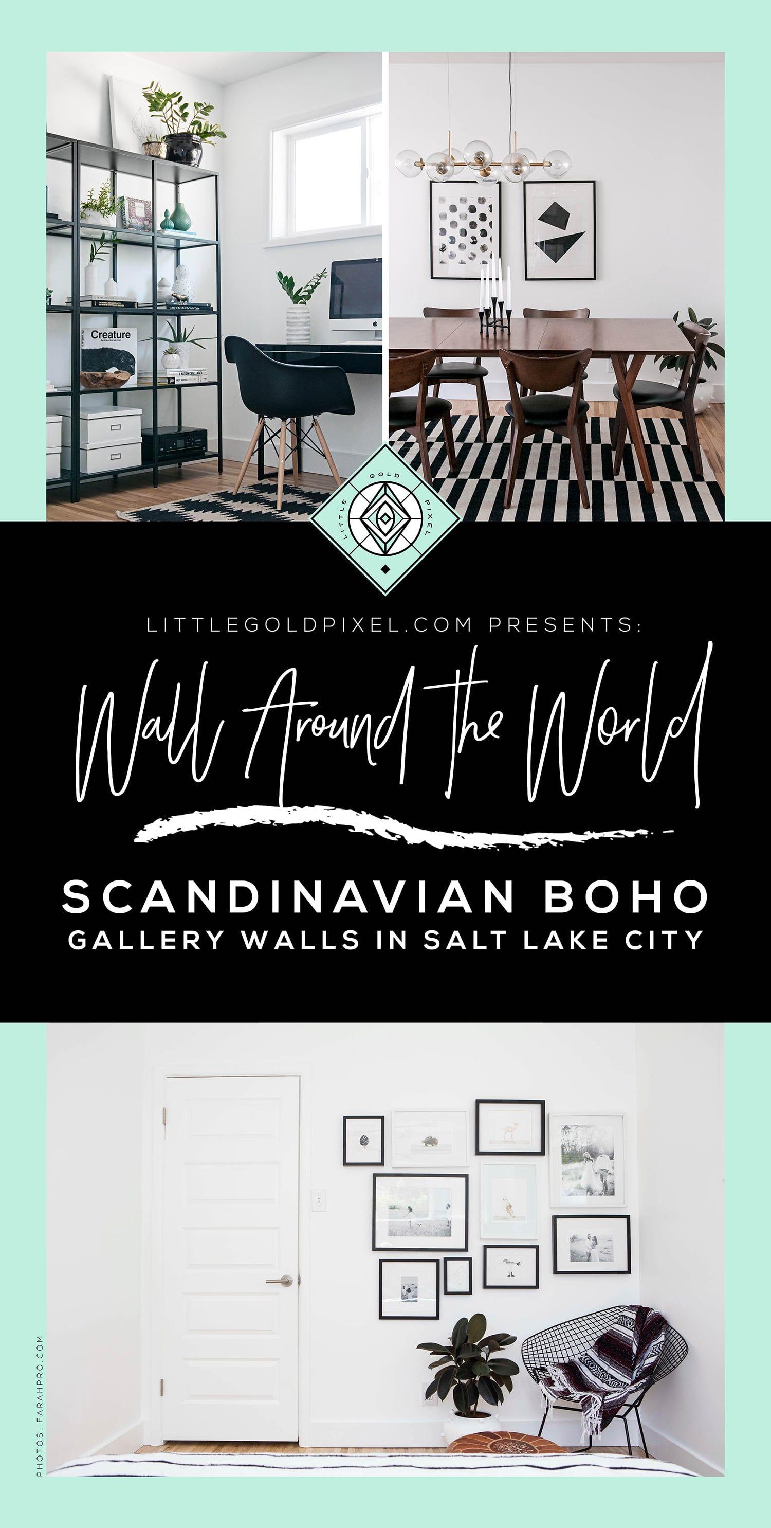 Scandinavian Boho Gallery Walls U2022 Home Tour