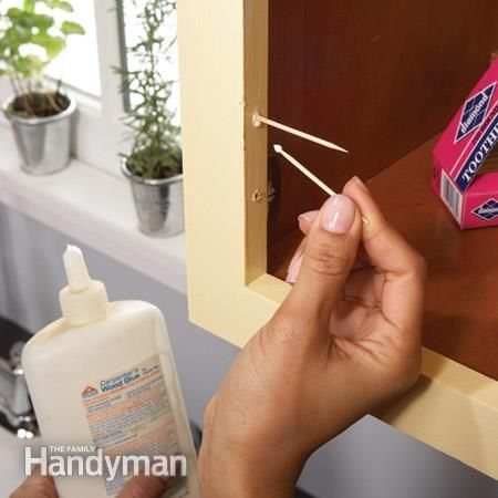 Home Repair How To Fix Kitchen Cabinets Kitchens And House