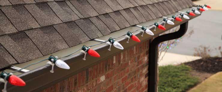 Christmas lights installation help