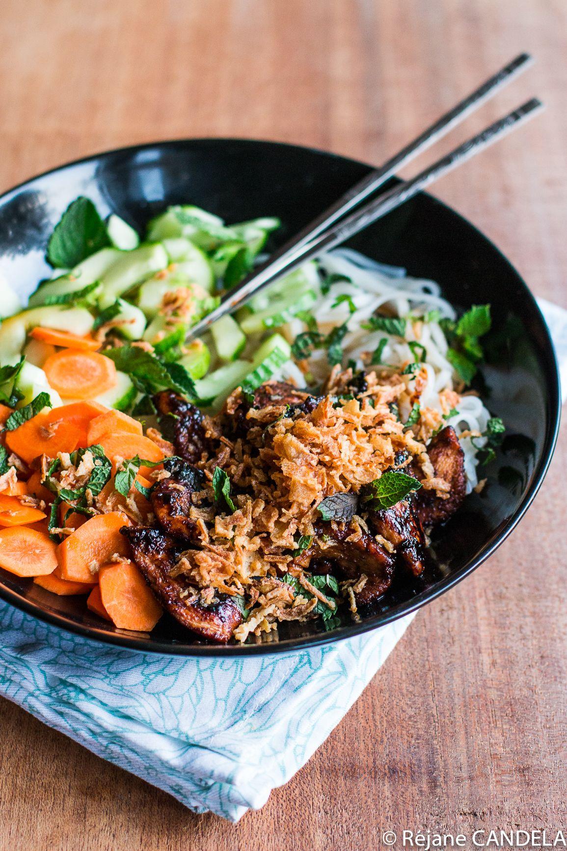 Bo Bun Allégé   Plat vietnamien, Recette asiatique et Recettes de cuisine