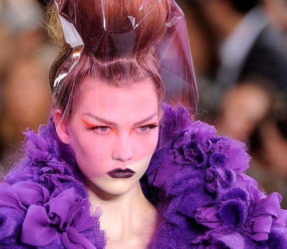 Dior Haute Couture AW10 ...cellophane veil anyone?