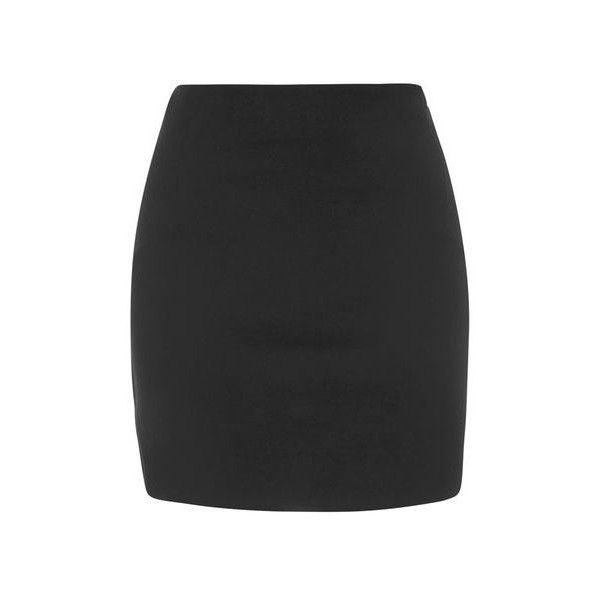 TopShop High-Waisted Seam Detail Mini Skirt ($26) ❤ liked on Polyvore featuring skirts, mini skirts, black, panel skirt, topshop, mini skirt, high waisted short skirts and topshop skirt