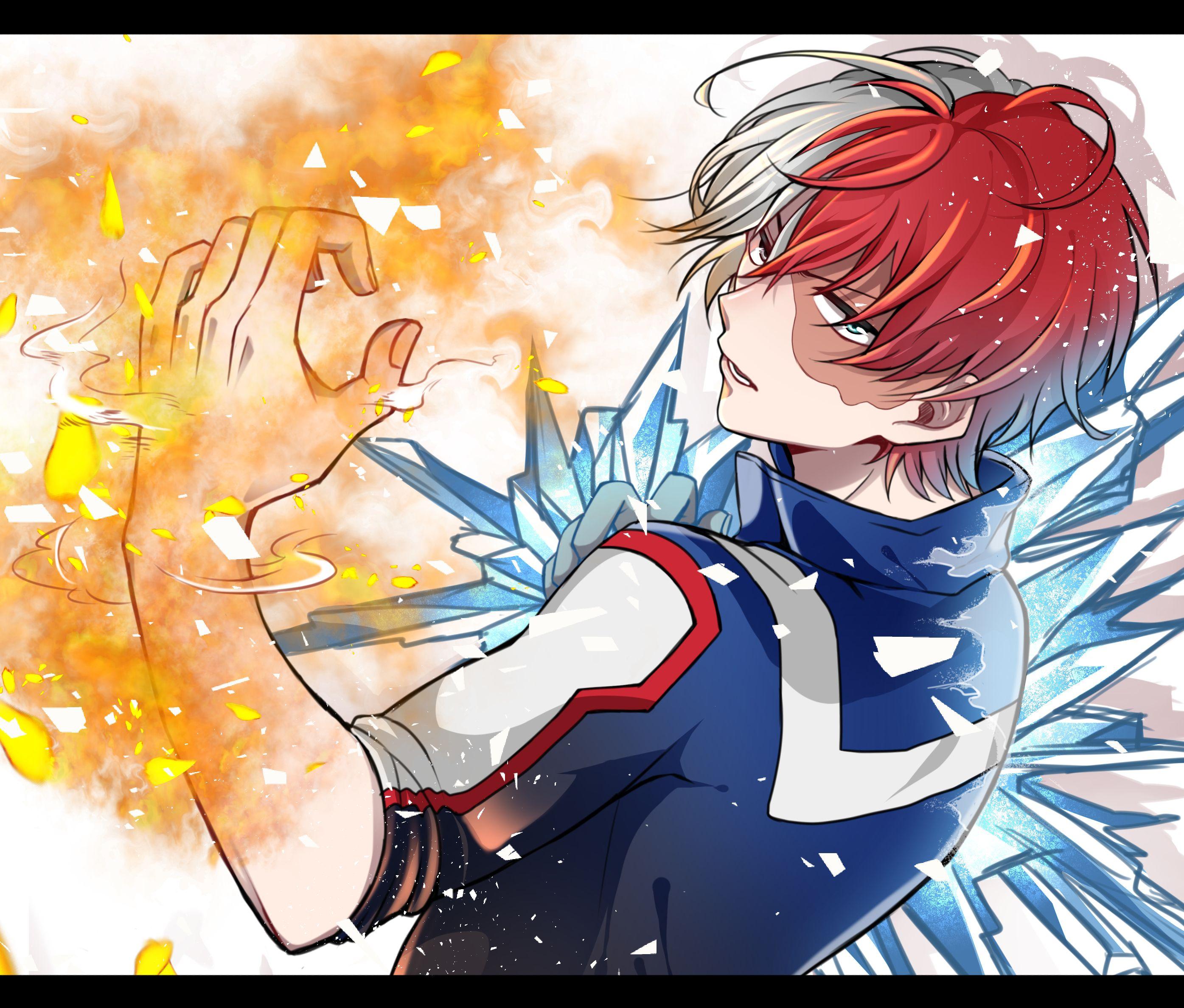 Boku no Hero Academia Todoroki Shouto ( Manga ) Boku