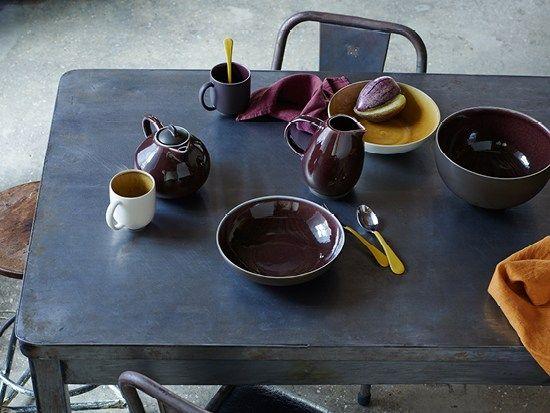 colour palette Tableware