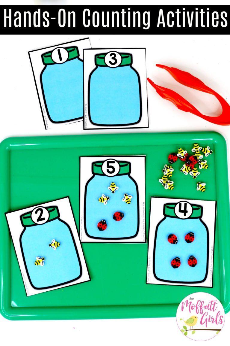 Preschool Math Teach Numbers 1 5 In Fun Hands On Ways Math Activities Preschool Preschool Math Teaching Numbers [ 1152 x 768 Pixel ]