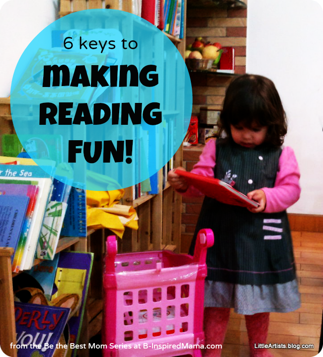 4926462f6b8f What s your best tip for making reading fun for kids  As part of the